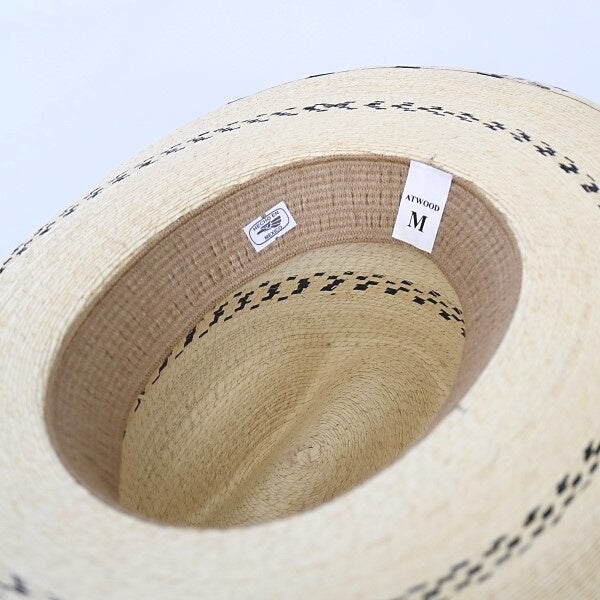 Boy's Cowboy Hat | Palm Leaf | Atwood | Black Pinto