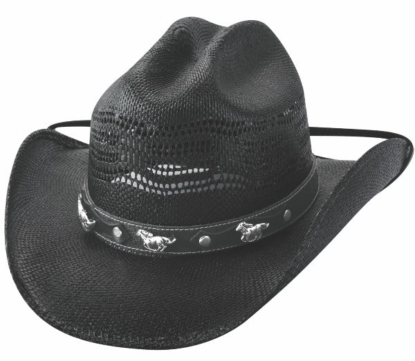 Kids straw cowboy hat | Bullhide | sharp witted