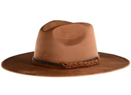 Suede Rancher Western hat-ASN-Brown