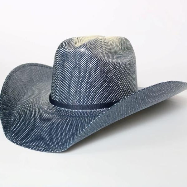 Atwood Western Straw Hat - Blue Northern
