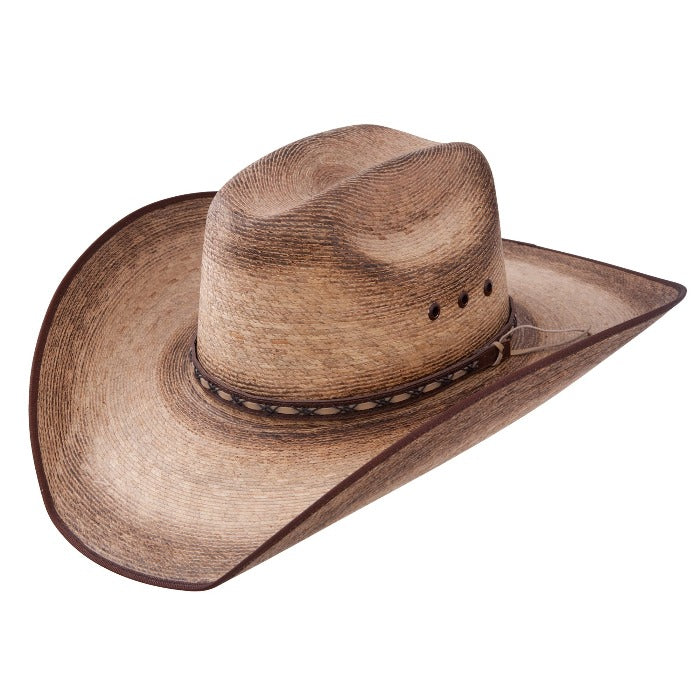 Jason Aldean Palm Leaf Cowboy Hat - Amarillo Sky