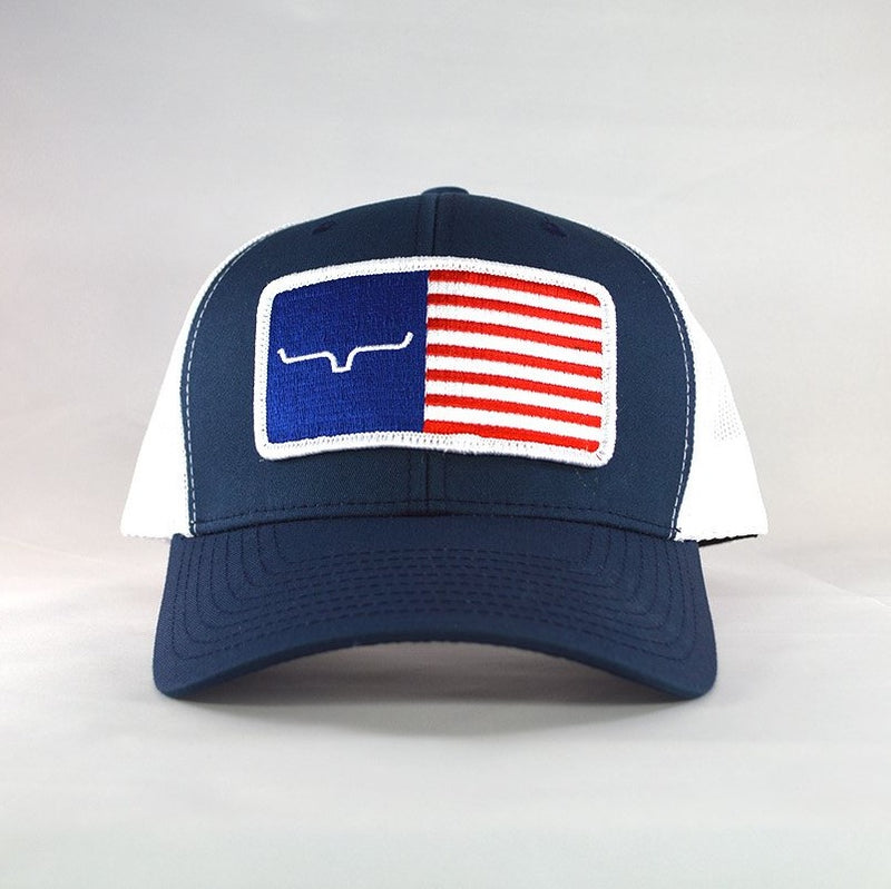 Kimes Ranch American Trucker Hat | Navy