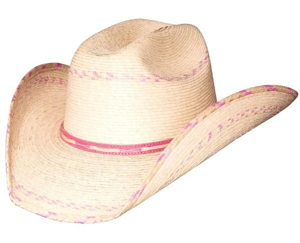 Kids Bullhide Straw Western Hat - Candy Kisses