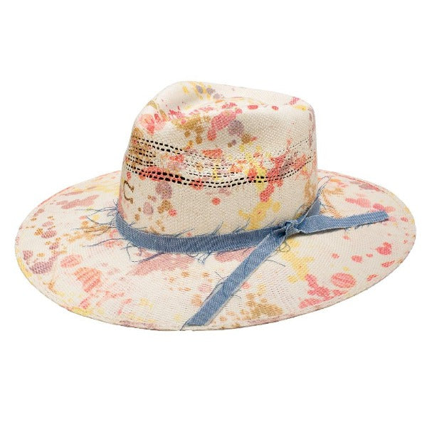 Charlie 1 Horse Western Straw Hat - Big Splash