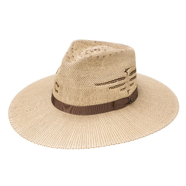 Charlie 1 Horse Western Straw Hat | Mexico Shore