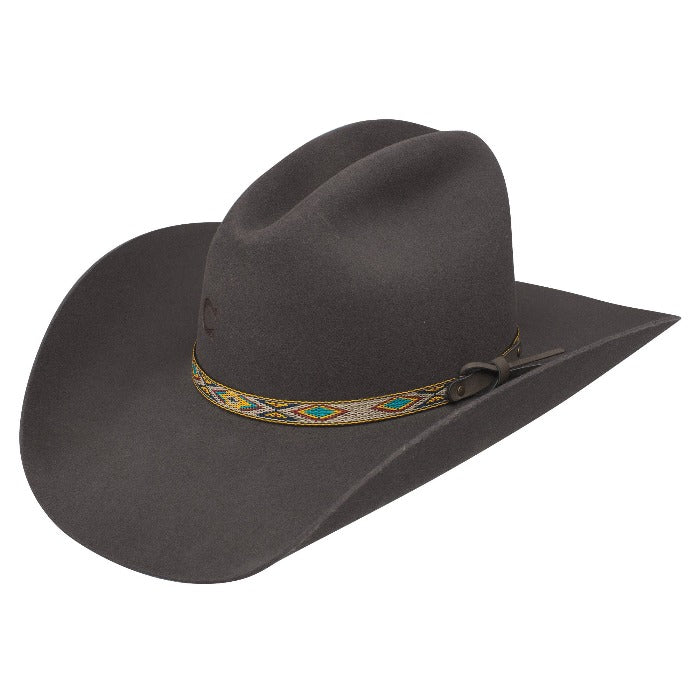 Charlie 1 Horse Felt Cowboy Hat | Run Away Grey