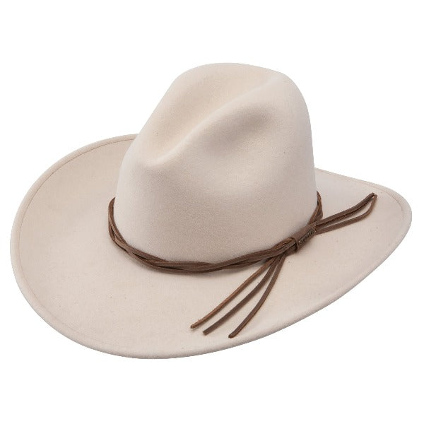 Stetson Gus Outdoor Western Crushable Wool Hat - Silverbelly