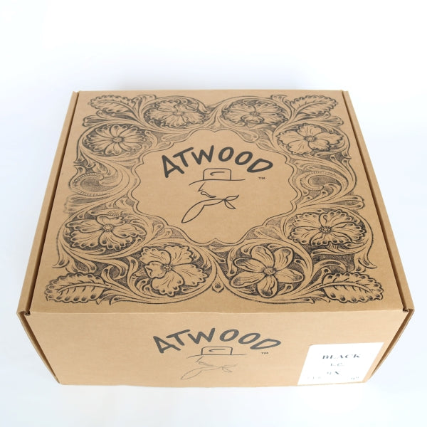 Men's Felt Cowboy Hat | Atwood | Black | Box