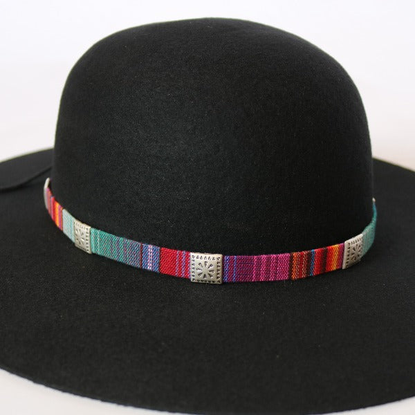 Hat Bands | Woven Cotton | Rainbow