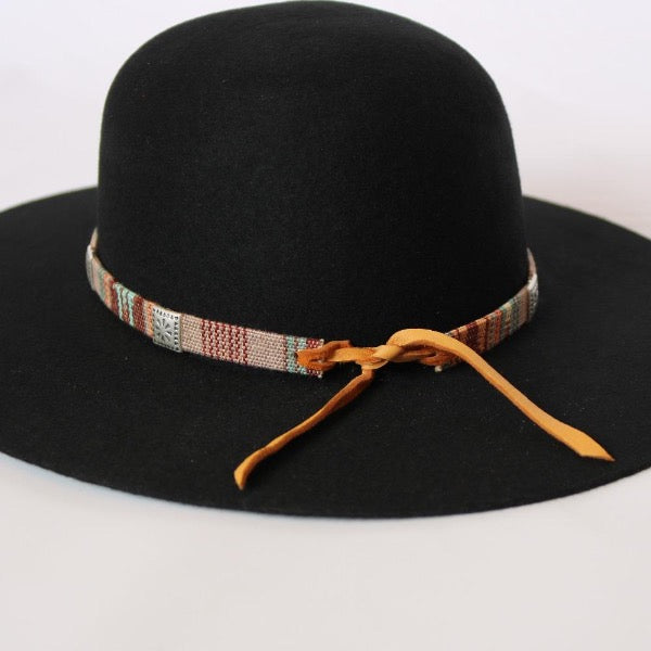 Hat Bands | Western Aztec Print | Sunset Skies