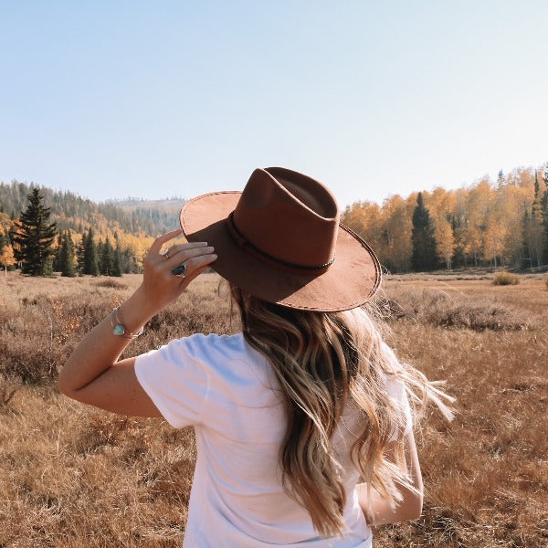 Suede Rancher Western Hat | ASN | Brown