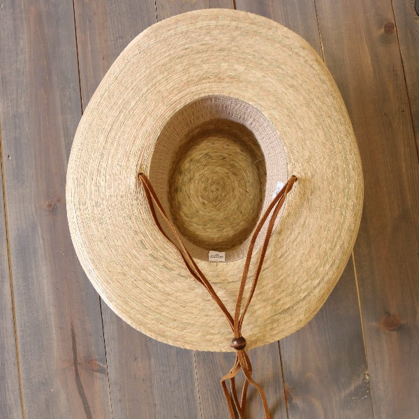 Atwood Western Palm Leaf Hat | Pinedale | Chinstrap