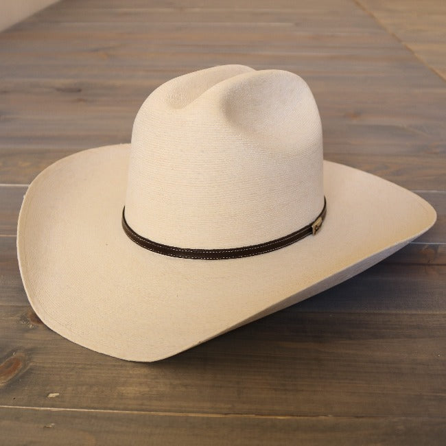 Palm Leaf Cowboy Hat-Atwood- Marfa-White