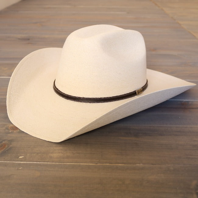 Palm Leaf Cowboy Hat-Atwood- Hereford-White