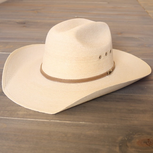 Atwood Cowboy Palm Leaf Hat-Grasshopper-White