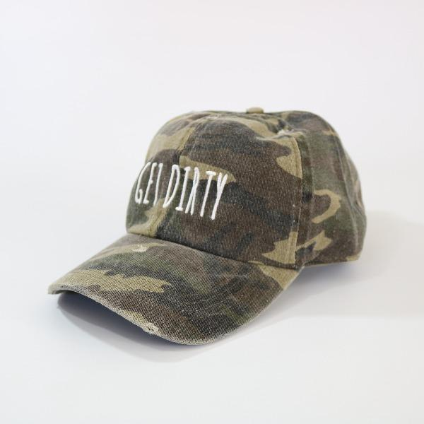 Womens Baseball Cap | David & Young | Get Dirty