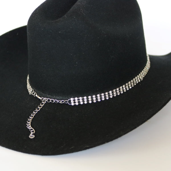 Crystal Bling Hatband - The Lucy