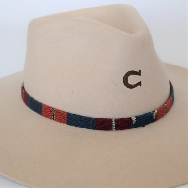 Western Colorful Woven Hatband - The Red Desert