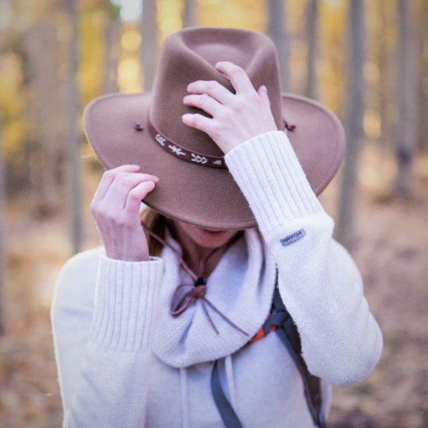 Stetson Felt Western Outdoor Hat | Sante Fe | Packable