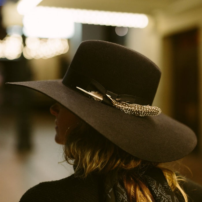 Stetson Felt Wide Brim Floppy Hat - Rapture