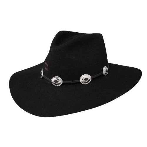 Charlie 1 Horse Women's Western Hat - Traveler in Black Wool