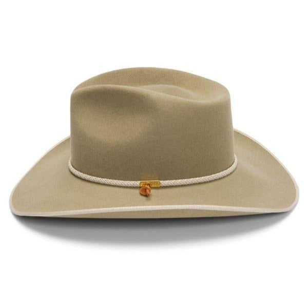 Stetson Western Hat - Quicklink in Silver Belly Firm Felt
