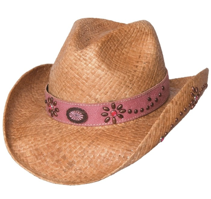 Kids Bullhide Straw Western Hat - Daughter of the West