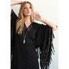 Urbanista Fringe Suede Shawl - Wrap Me Up