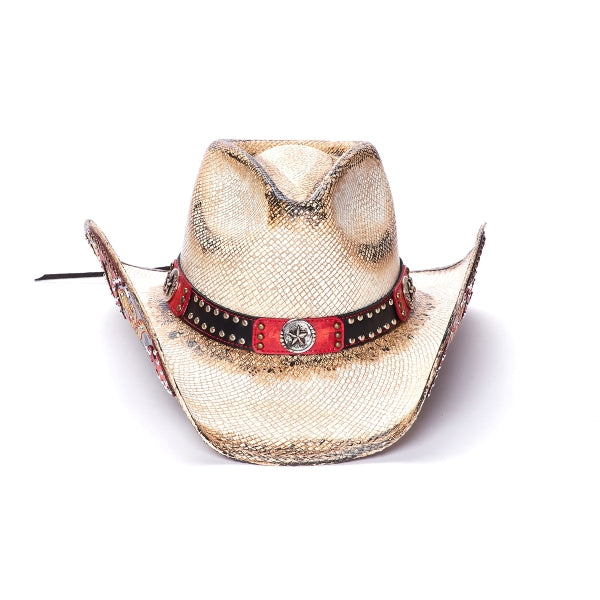 Stampede Women's Straw Cowboy Hat - The Rock N Roll