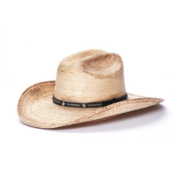 Straw Cowboy Hat | Palm Leaf