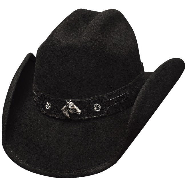 Kids Bullhide Felt Cowboy Hat - Horsing Around