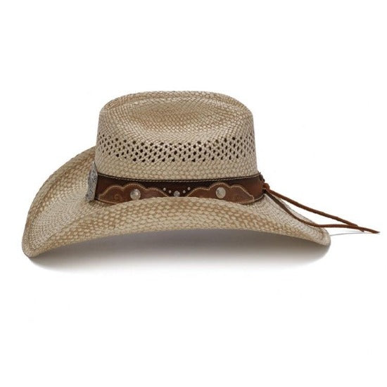 The Texas Stampede Straw Western Hat