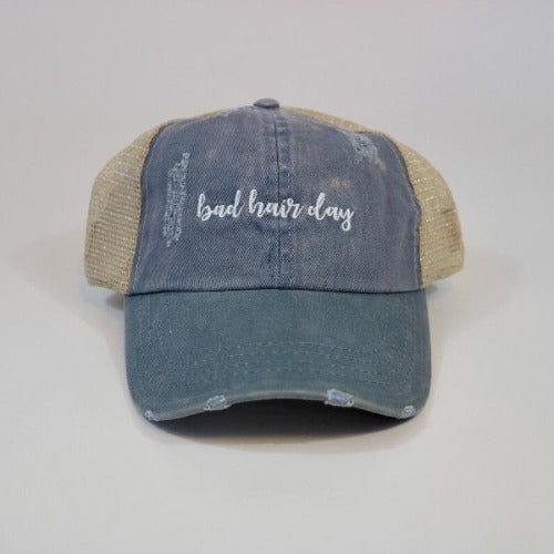 Womens Trucker Hat | David & Young | Bad Hair Day