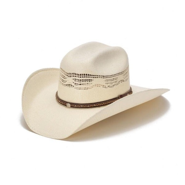The Roan Bangora Straw Vented Cowboy Hat By Stampede
