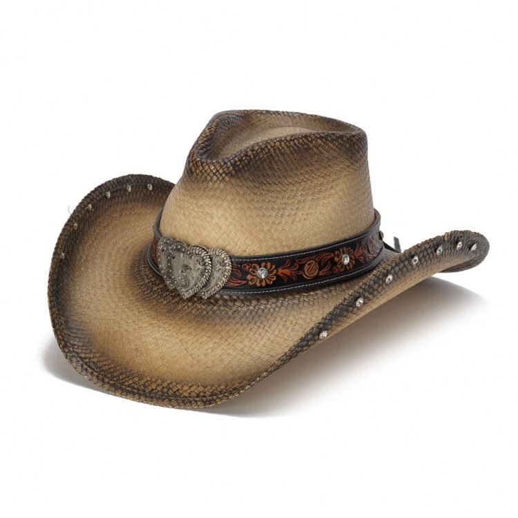The Triple Heart Stampede Western Hat