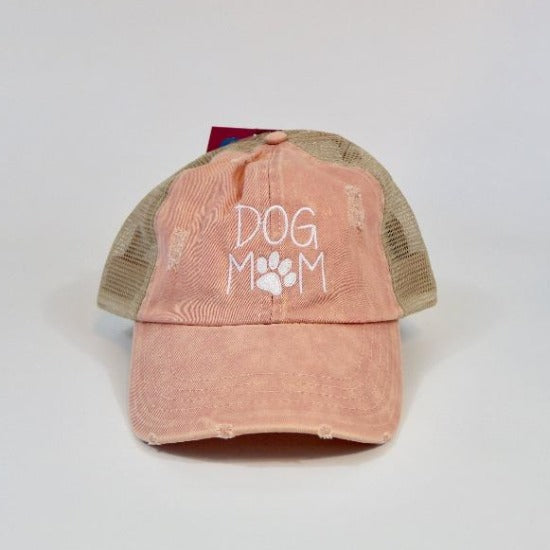 Womens Trucker Hat | David & Young | Dog Mom