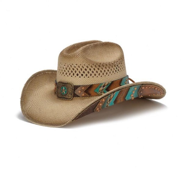 ff27d027 The Copper Head - Stampede Western Straw Hat