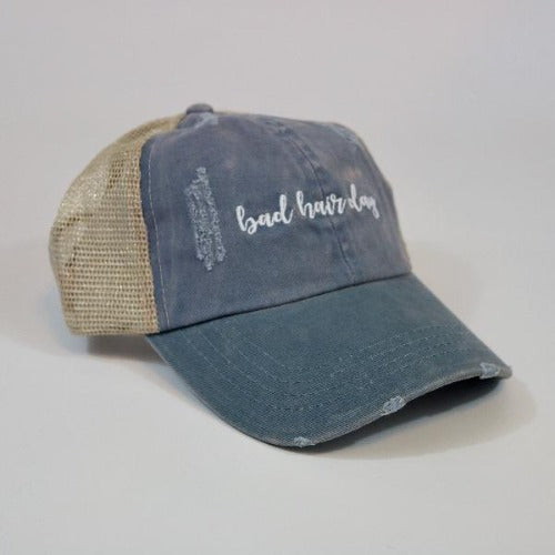 David & Young Bad Hair Day Baseball Cap Willow Lane