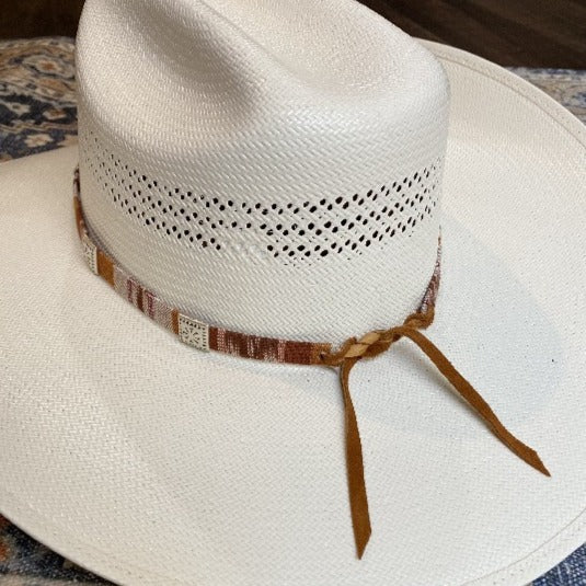 Western Colorful Woven Hat Band - The Zion