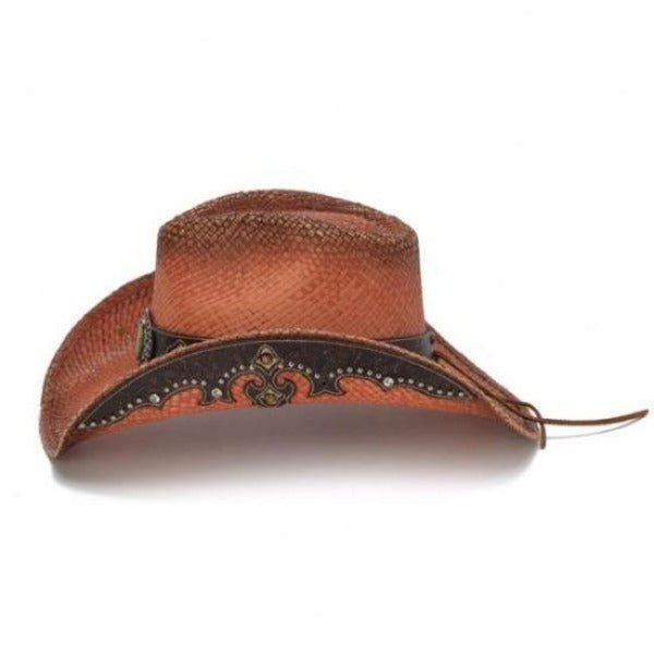 Stampede Women's Straw Western Hat - The Campfire