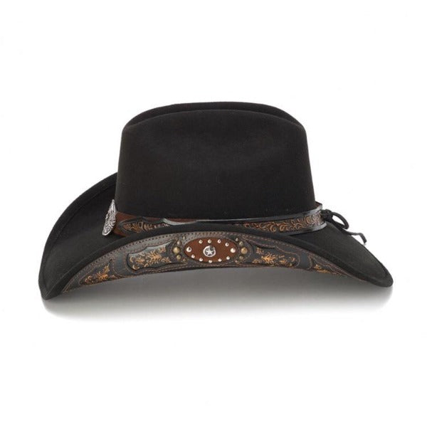 Men's Felt Cowboy Hat | Stampede | Black