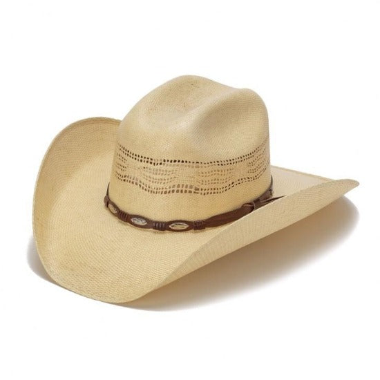 The Highland Bangora Straw Vented Cowboy Hat By Stampede