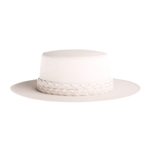 The Palm Springs White Gambler Hat