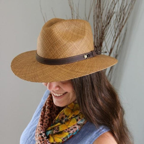 The Holbox Palm Leaf Straw Hat