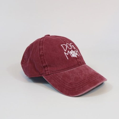 Womens Baseball Cap | David & Young | Dog Mom