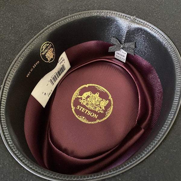 Interior of stetson dylan hat