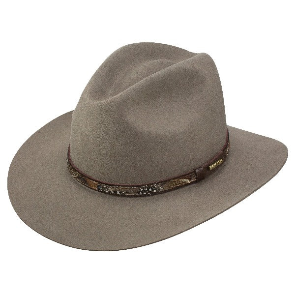 Stetson Fur Felt Outdoor Mens Hat | Jackson | Grey