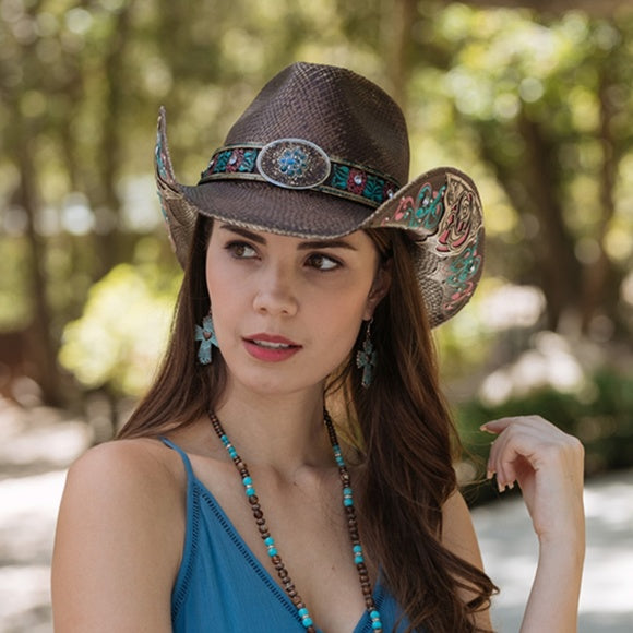 Dusty Rose Cowboy Hat by Stampede Willow Lane