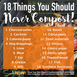 18 Things You Should Never Compost