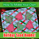 How To Make Your Own Holiday Seed Bombs